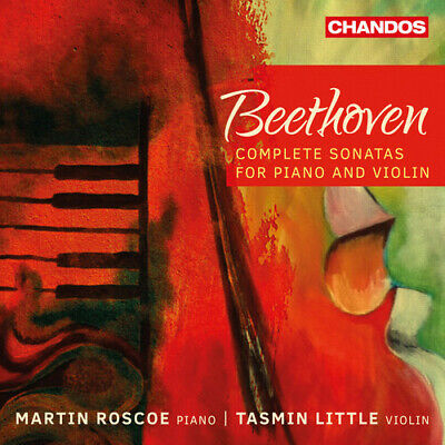 Beethoven / Little / Roscoe Beethoven: Complete Violin Sonatas 3 CD NEW sealed