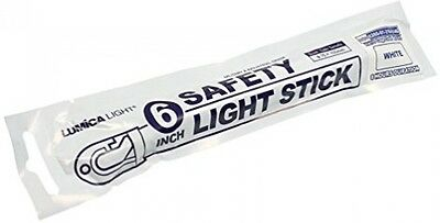 Lumica 6 Military Grade Safety Light Stick - WHITE X 10 By Lumica Light
