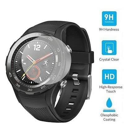 Premium 9H Tempered Glass Screen Protector Film Guard for HuaWei Watch 2 2017
