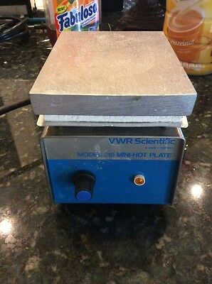 VWR Scientific Model 210 Mini-Hot Plate, CAT No. 33918-556