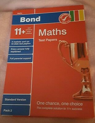 Bond 11+ Maths, test papers, pack 2