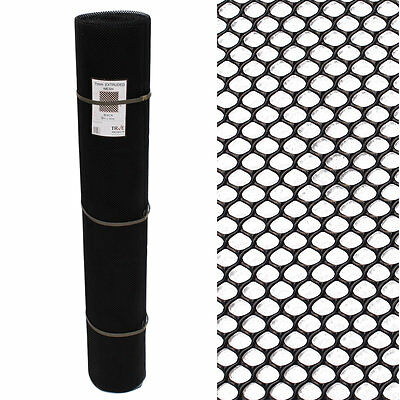 2 x 30m Black Grass Reinforcement Mesh Pedestrian Pet Ground Lawn Protection Mat
