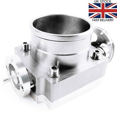 TriX SILVER 80mm CNC billet aluminium throttle body Nissan Honda Toyota Subaru
