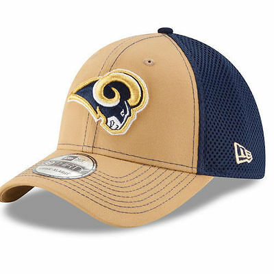 Los Angeles Rams New Era 39THIRTY NFL Neo Men s Flex Fitted Cap Hat - Size  18b254675950