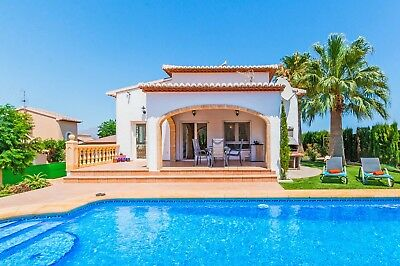Villa Javea Spain Costa Blanca Private 5/10/19 Mountains Beach FREE Pool Heating