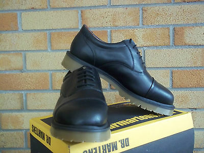 Dr Martens Black Oxford Ben  5 Eyelet Made In England Mod  Ska  Skin