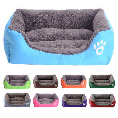 Dog Cat Pet nest Bed Cushion Puppy Washable Mat sofa Candy Kennel doghole S M L