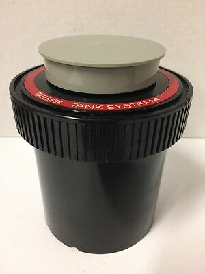 PATERSON System 4 35mm Film Developing Tank and Reel Good Condition (12)
