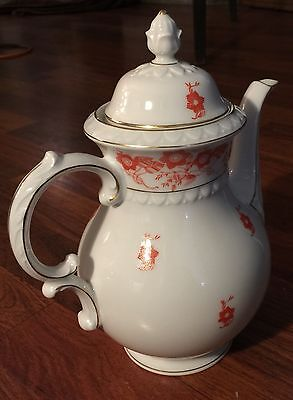 Rare 19thC Nymphenburg Porcelain Coffee Pot by KPM Manufactory circuit 1939