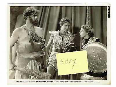 The Warrior's Husband 1933 Orig Movie Photo David Manners Dracula Mummy E Landi