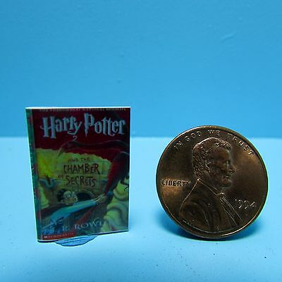 Dollhouse Miniature Replica of Harry Potter and the Chamber of Secrets Book B082