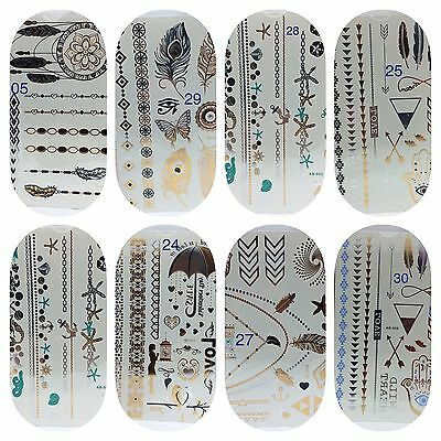 Wholesale Job lot 100 Temporary Flash Body Tattoos Inspired Body Art  Sticker
