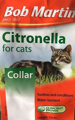 Bob Martin Citronella Collar for Cats - Soothes and Conditions