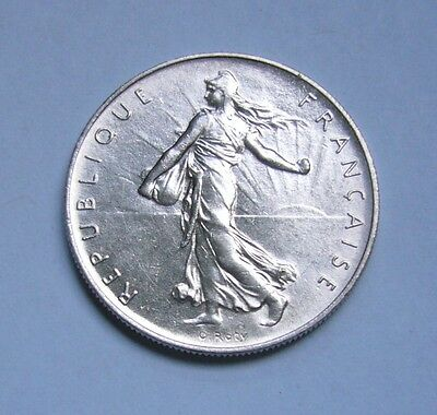 France 1 Franc 1960, Semeuse-The seed sower