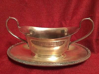 International Silver Co Camille #6013 Gravy Sauce Boat