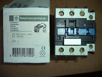 Telemecanique Contactor Part #M412403