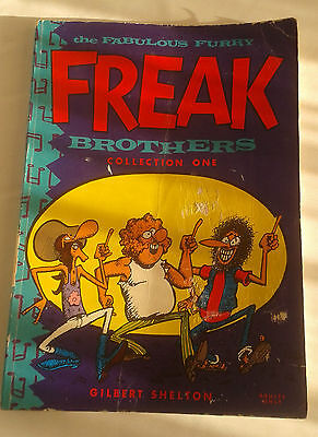 The Fabulous Furry Freak Brothers Collection 1 comic by Gilbert Shelton