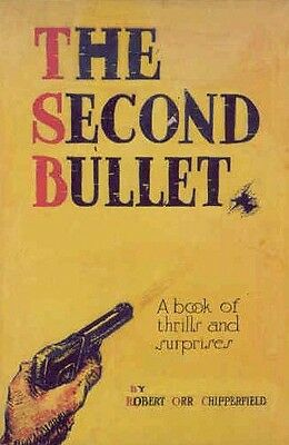 Earliest Noir - The Second Bullet 1919 - Crofoot - Illustration Book Cover Art