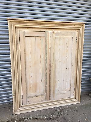 19th Century Style Large Pine Cupboard