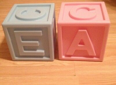 Jumbo Size Baby Blocks For Nursery Or Baby Shower Decoration