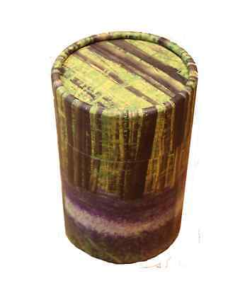 Funeral Memorial Small Cremation Ashes Scatter Scattering Tube Urn Bluebell Wood