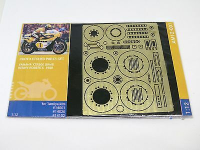 Photo Etch set for Tamiya Yamaha YZR500 Kenny Roberts (kits 14001, 14026, 14102)