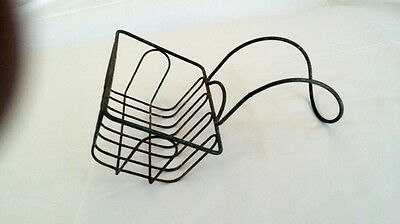 Antique Claw foot Bathtub Wire Basket Soap/Sponge Holder.