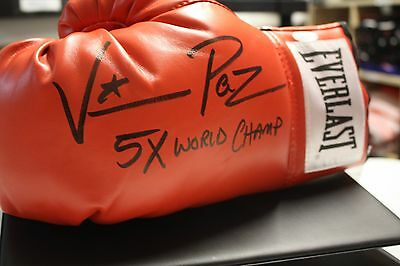 "Vinny Paz Signed Everlast Boxing Glove Jsa Witness Pazienza ""bleed For This"""