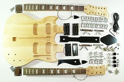 complete Kit for MPM Double Neck E-guitar
