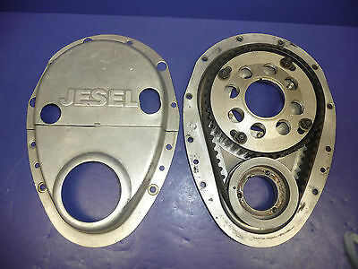 JESEL BELT DRIVE 2-Piece Upper Pulley SYSTEM SBC with BB Crank Snout 350 383