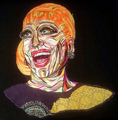 Bianca Del Río ,decoration, Embroidery, Spectacular.