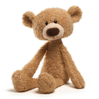 "GUND Teddy Bear Toothpick beige stuffed animal 17""/43cm soft plush toy NEW"