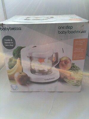New BABY BREZZA THE ONE STEP BABY FOOD MAKER WITH STEAM