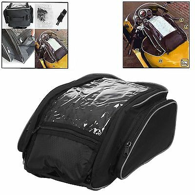 Magnetic 21L Motorbike Tank Bag Motor Cycle Tankbag Waterproof With Carry Strap