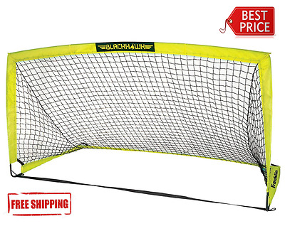 Large Portable Football Goal Soccer Net Training Outdoor Sports Goals 6'6 x 3'3