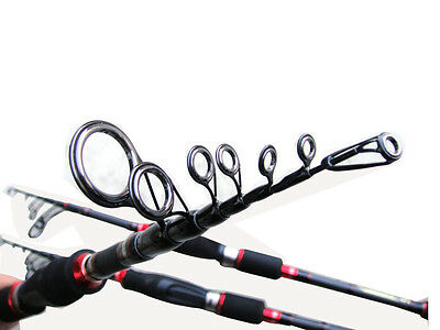 telescope MH spinning rod bass trout travel spinning rod 6-12lb 3/8-3/4oz
