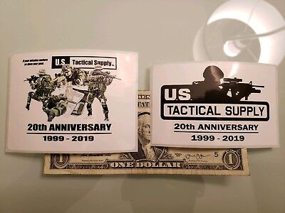 Set of U.S.Tactical Supply Sticker authentic DEVGRU Sniper SWAT G36 HK416 SAS