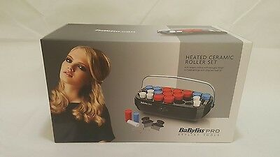 BaByliss Pro 20 Piece Compact Ceramic Heated Hair Rollers Curlers Set