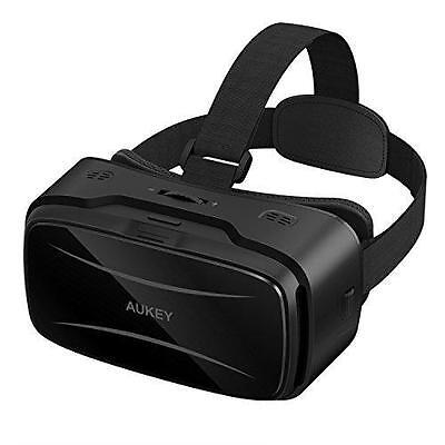 AUKEY VR Headset Virtual Reality 3D Glasses With Adjustablelens And Lensdistance
