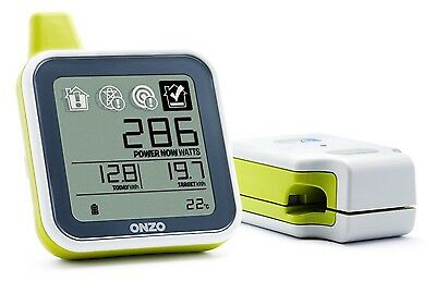 ONZO Smart Energy Electricity Monitor Starter Pack *Usage Meter* NEW GREEN(R10D)