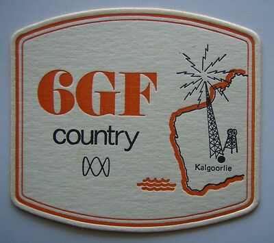 6GF Country ABC Radio Kalgoorlie Coaster (B263)