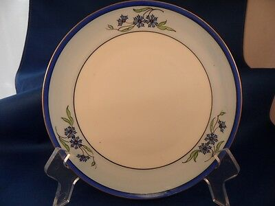 """Jaeger & Co. Bavaria Germany 7"""" Porcelain Plate Hand-Painted By Stouffer 1902"""