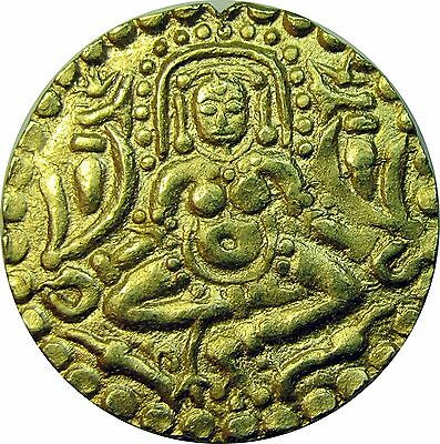 Medieval India Gold, Paramaras of Malwa, Nara Varmana 1070-86 AD, 4 1/2 Masha
