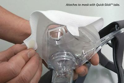 SILENTNIGHT CPAP + BiPAP MASK LINERS - Sleep Apnoea - Helps Leaks + Face Marks