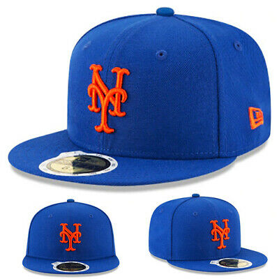New Era MLB New York Mets 5950 Youth Fitted Hat Official Kid s Baseball Cap 2a39220cb87c