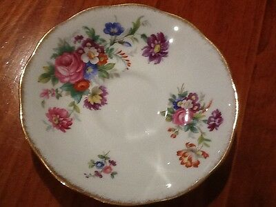 Roslyn Fine Bone China - Made in England -  Missing,Spare,Orphan saucer 'Minuet'