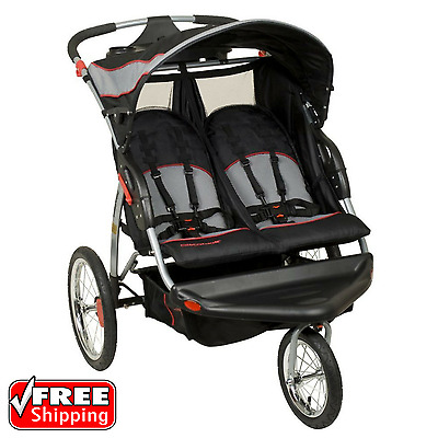 Baby Trend Expedition Double Jogger Stroller Millennium Infant Carriage Buggy
