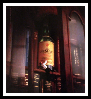 1987 The Glenlivet Scotch Whisky Ad - Whiskey - Vintage 1980s Advertising Page