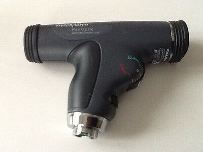 WELCH ALLYN 11820 PANOPTIC OPHTHALMOSCOPE for DIAGNOSTIC SET EXCELLENT CONDITION