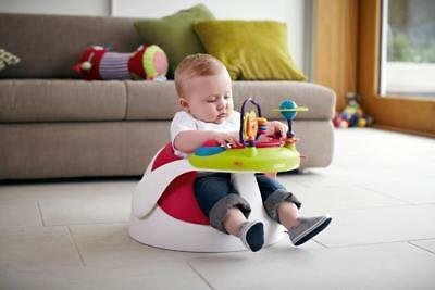 Mamas & Papas Baby Snug Support Floor Seat And Activity Tray Red